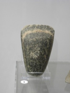 stone axe Stromness Museum B Bell