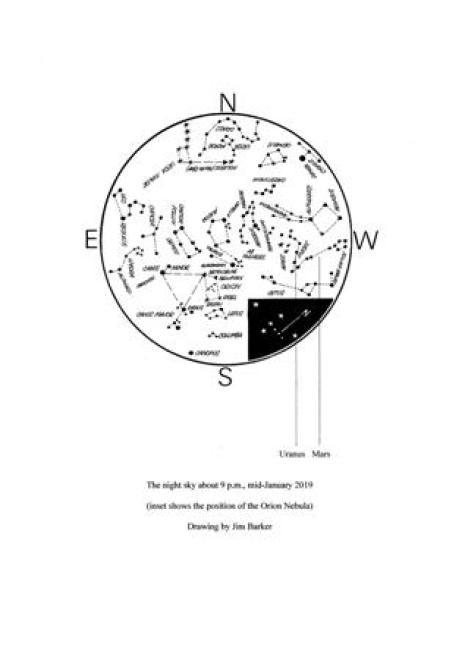 jan 2019 map astronomy