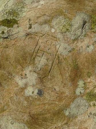 Brodgar graffiti symbol A M Bell