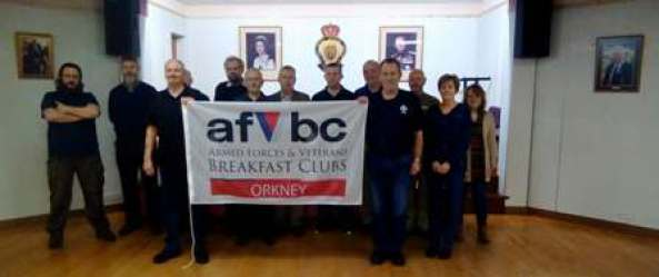 Vets Breakfast flag