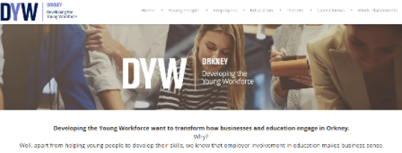 developing the young workforce website