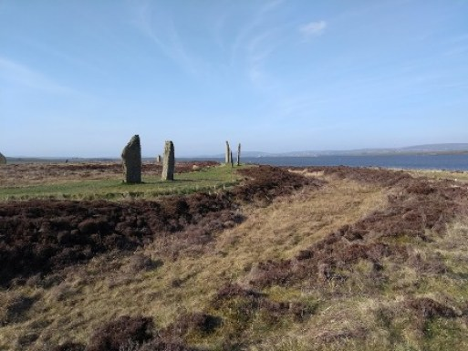 ditch at Ring of Brodgar