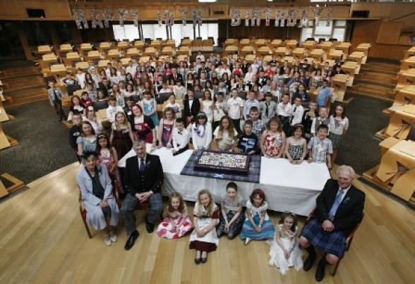 Scottish Parliament babies