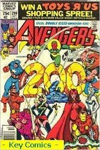 Avengers Issue 200