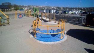 Play area for peedie folk.