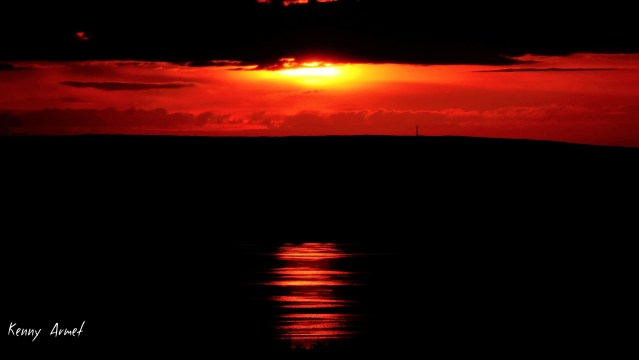 3 Sunset Kirkwall Bay 16th July 19