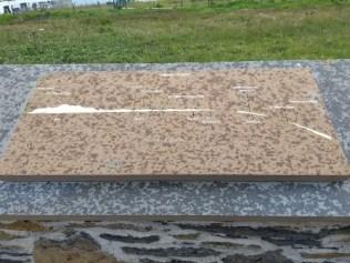 display board Dunnet Head Caithness