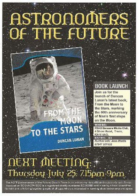 Duncan Lunan book launch