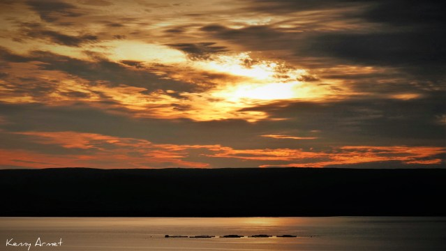 Sunset Kirkwall Bay 15th July 2019