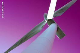 Vestas V52 850kW turbine located in Burray martin laird