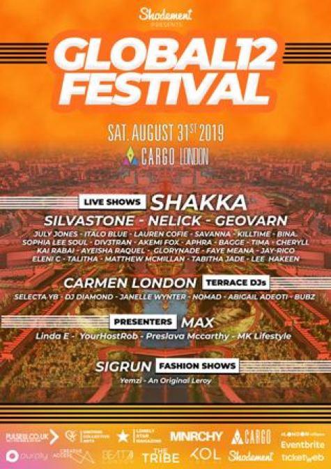 Global 12 lineup