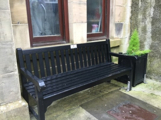 Kirkwall improvements bench BID