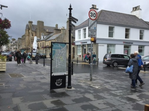 Kirkwall improvements Castle St