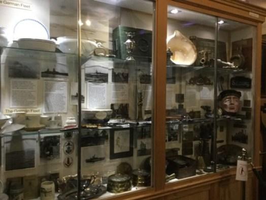 Stromness Museum German fleet