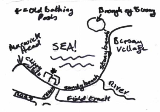 Bernies Birsay map