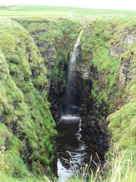 The Gloups waterfall Bell