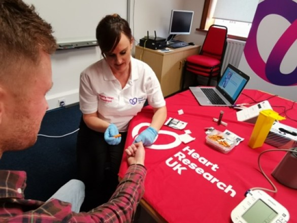 Heart Research UK Health check