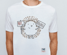 Help our Hedgehogs Mammal society T shirt