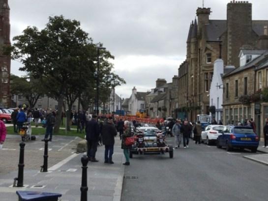 street scene Vintage event OISF 2019