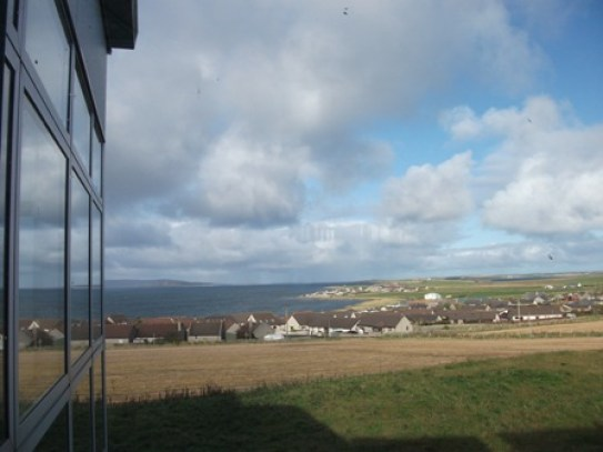View from Orkney College Bell