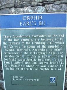 Orphir Earls Bu Bell