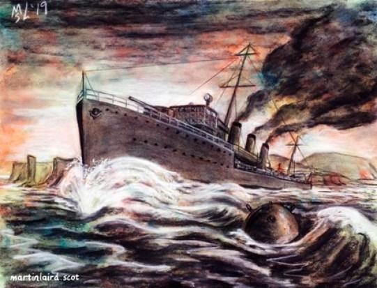 HMS Pheasant, Admiralty M Class destroyer
