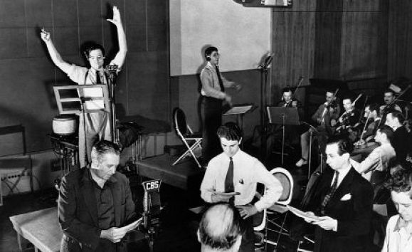 Mercury Theatre Radio Rehearsal 1938 War of the Worlds