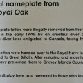 Royal Oak Origional Letters