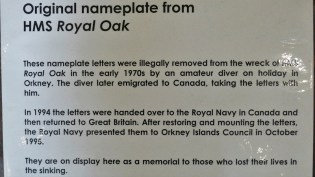 Royal Oak Origional Letters