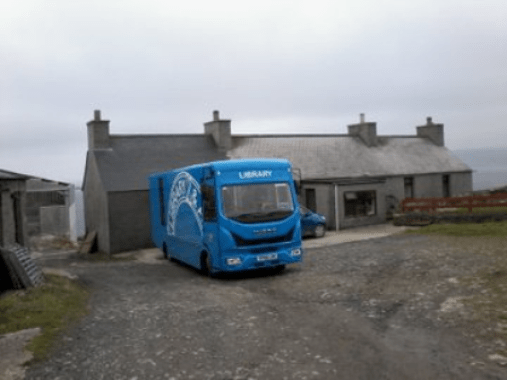 Orkney mobile library