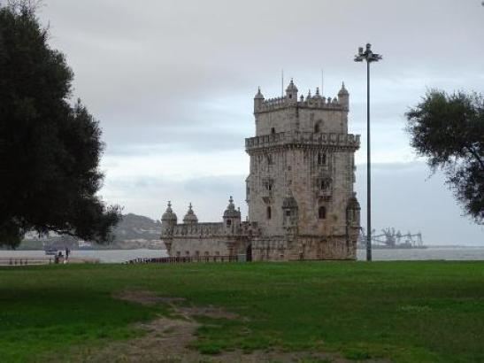 Torre De Belémin Portugal Mike Bell