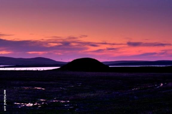 Maeshowe sundown Martin Laird