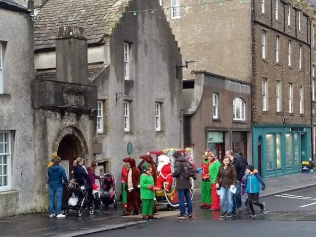 Santa in KIrkwall