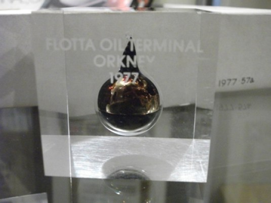 Flotta oil terminal 1977 Orkney museum