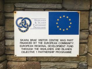 EU funding Skara Brae