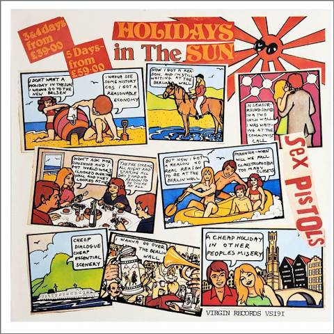 The Sex Pistols Holidays in the Sun B Bell