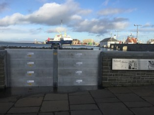 Kirkwall flood defences 3