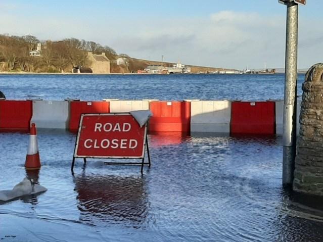 St Margarets Hope 1 flood