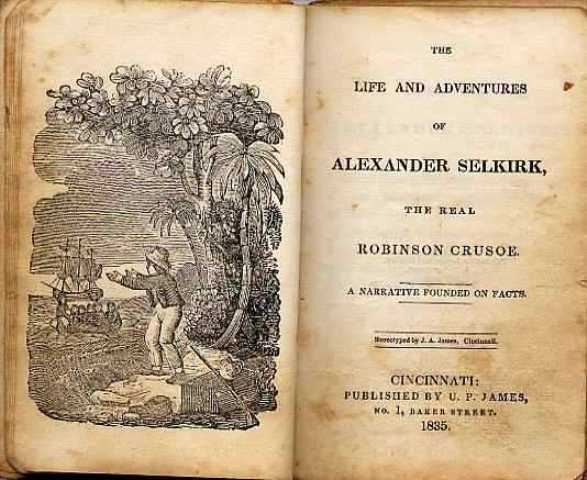 Alexander Selkirk Title Page