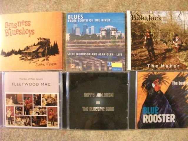 Blues CDs Bernie Bell