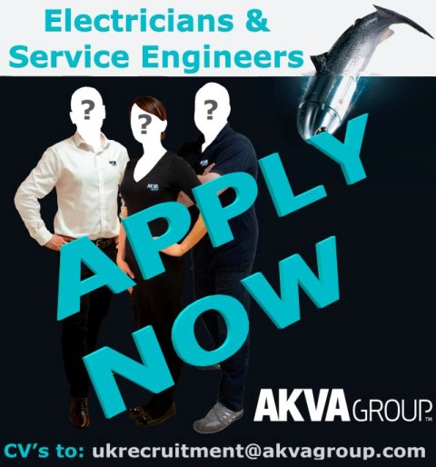 electrician and service engineers Ad AKVA