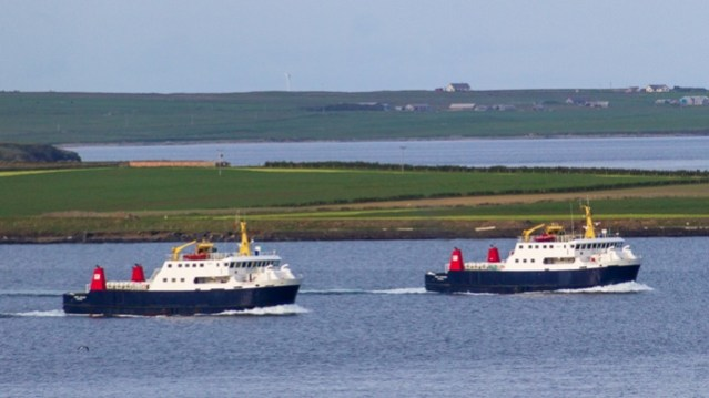 inter island ferries Orkney Mike Robertson