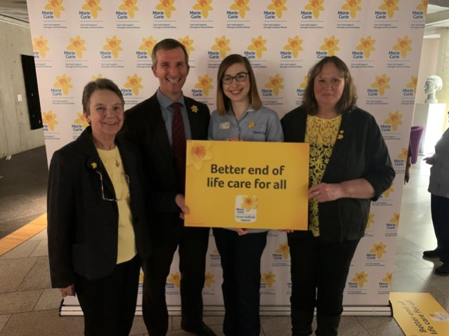Marie Curie Great Daffodil Appeal Reception