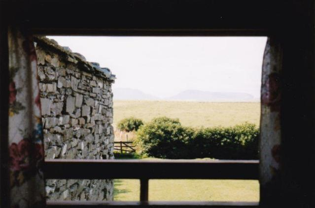 The Langhoose view from window Bell