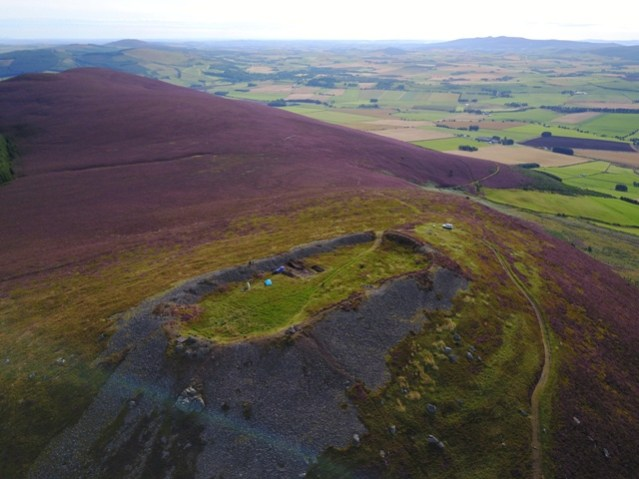 Pictish Hillfort Aberdeenshire University of Aberdeen