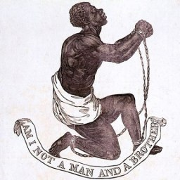 Official medallion of the British Anti-Slavery Society (1795)
