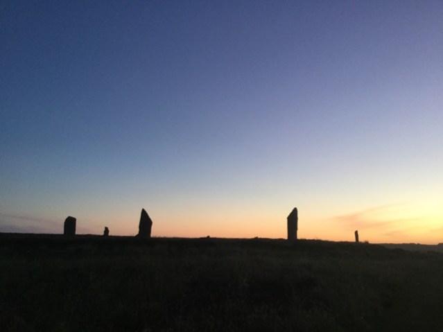 Brodgar summer solstice 3