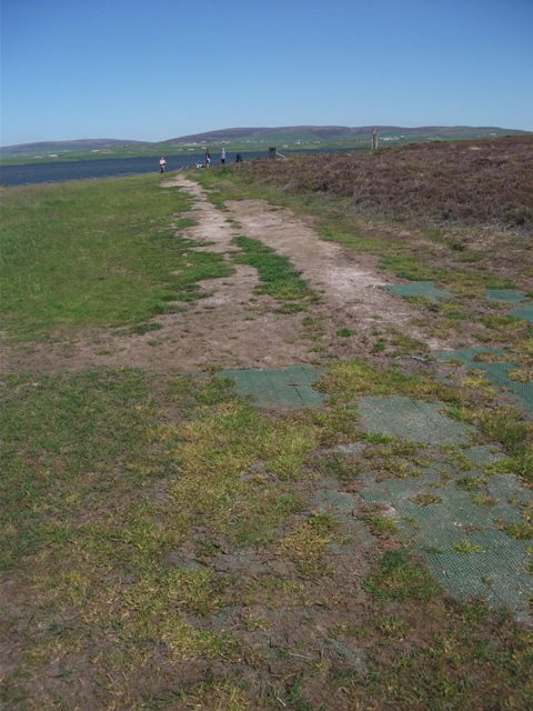 path at Brodgar May 2020 credit Bell