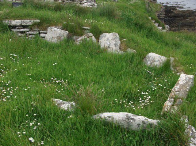 Broch of Gurness viking burial during lockdown credit Bell
