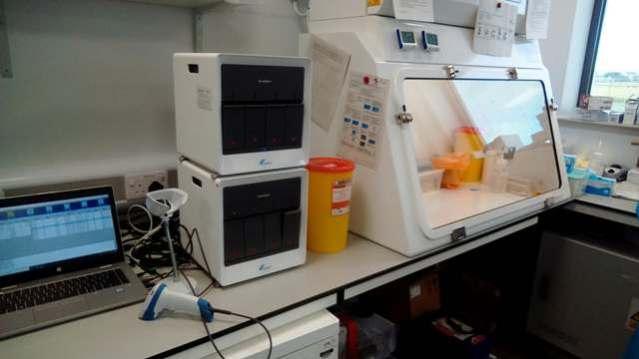 NHS Orkney Testing Lab Covid 19 N Morrison